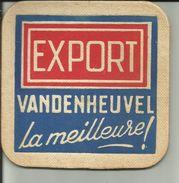Export  Brasserie Vandenheuvel Brussel - Sous-bocks