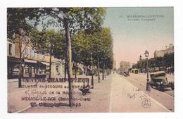 78 Maisons Laffitte N°34 Av Longueil Voiture Cabriolet Tampon Du Centre Champsfleur à Mesnil Le Roi Secours Aux Enfants - Maisons-Laffitte