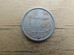 Polynesie Francaise  1  Francs  1965  Km 2 - French Polynesia