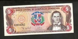 REPUBLICA DOMINICANA - BANCO CENTRAL - 5 PESOS (1997) - Dominicana