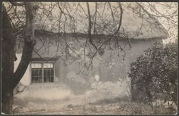 Unidentified Thatched Cottage, C.1910s - RP Postcard - To Identify
