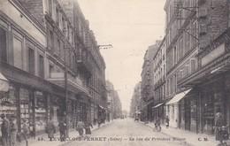 Levallois-perret La Rue Du President Wilson - Levallois Perret