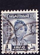Irak - Dienst/Service König Faisal II. (MiNr: DM 144) 1948 - Gest Used Obl - Iraq