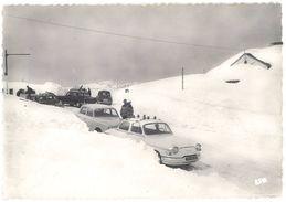 Cpsm Valls D'Andorra ( Andorre ), Le Refuge De Fra Miquel Sous La Neige ( Panhard, Neige, Ski ) - Andorre