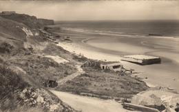 SAINT LAURENT - VIERVILLE SUR MER - OMAHA BEACH (14)  LA PLAGE ET LA POINTE DE LA PERCEE - France