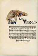 LES CHANTS DU QUARTIER LATIN ET DE L'INTERNAT - Avec La Musique Et 53 Illustrations Coloriées Au Pochoir  -  Tres RARE S - Humour