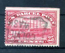 1912-13 STATI UNITI PACCHI POSTALI N.7 USATO - Usati