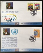 FDC Philippines 2005 - United Nations 60th Year - ONU