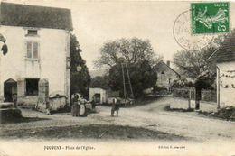CPA - FOUVENT (70) - Aspect De La Place De L'Eglise En 1906 - Francia