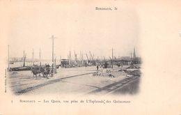 (33) Bordeaux - Les Quais Vue Prise De L'Esplanade Des Quinconces - Bordeaux