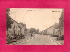 70 Haute Saône, Saulx, Avenue De Luxeuil, Animée, Charrette, 1908, (Poirot) - France