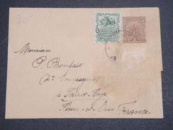 URUGUAY - Entier Postal + Complément De Montevideo Pour La France En 1903 - L 10167 - Uruguay