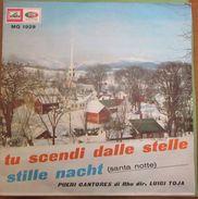 """Pueri Cantores Di Rho Luigi Toja - Tu Scendi Dalle Stelle / Santa Notte (Stille Nacht) (7"""") - Weihnachtslieder"""