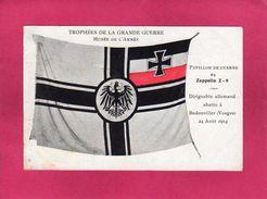 Trophées De La Grande Guerre, Pavillon De Guerre Du Zeppelin Z-8, Musée De L'Armée, Militaria,  (J. Damien) - Autres