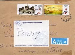 Belgio- Usati Su Busta - - Documenti Della Posta
