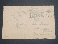 ALLEMAGNE - Carte Postale En Franchise Militaire En 1943 - L 10170 - Briefe U. Dokumente