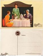 EDUSCHO - Eduard Schopf-Import, Bremen-Sicherheitshafen  -  Café -  (94154) - Werbepostkarten