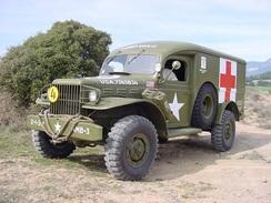 DODGE WC : BOITE DE TRANSFERT 4X4 6X6 ( USA WW2 MILITARIA WEAPON CARRIER TRUCK ) - Vehicles
