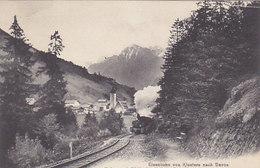Klosters - Rhätische Dampfbahn - 1910       (P-100-60807) - GR Grisons