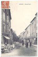Cpa Anduze - Chemin Neuf - Anduze