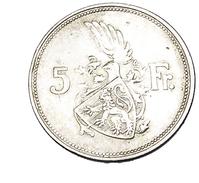 5 Francs - Luxembourg - Argent - 1929 - TB+ - - Lussemburgo