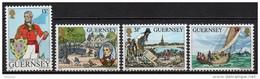 Guernesey - 1984 - Yvert N° 300 à 303 ** - John Doyle - Guernesey