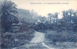 GABON Gabün - OGOUE : Vue D'ensemble De La CEFA à LAMBARENE - CPA - AFRIQUE NOIRE Black Africa - Gabon