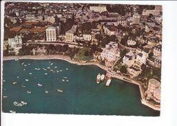 CP - DINARD -Vue Aérienne - Les Vedettes - Le Yacht Club - Le Grand Hôtel - Les Tennis - Dinard