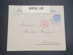 MALTE  - Enveloppe Pour Marseille En 1914 Avec Contrôle Postal - L 10180 - Malte