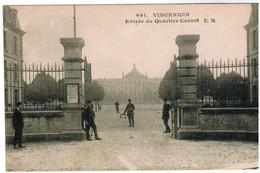 CPA Vincennes, Entrée Du Quartier Carnot (pk41089) - Vincennes