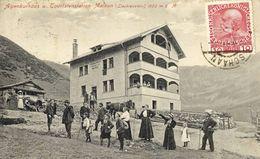CPA (  Liechtenstein)MALBUN Alpenkurhaus U. Tourislenstation  (boite Bur) - Liechtenstein