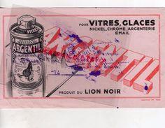 69- LYON- BUVARD DU LION NOIR- ARGENTIL POUR VITRES GLACES-NICKEL CHROME ARGENTERIE EMAIL- - Wash & Clean