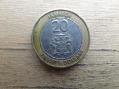 Jamaique  20  Dollars  2000  Km 182 - Jamaica