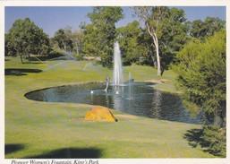 Postcard Perth Pioneer Women's Fountain King's Park My Ref B22093 - Perth