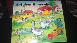 """POP-UP - LUCE ANDREE LAGARDE -   """" AUF DEM BAUERNHOF """" (A La Ferme............) - Livres Pour Enfants"""