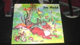 """POP-UP - LUCE ANDREE LAGARDE -   """" IM WALD """" (dans Les Bois)................. - Livres Pour Enfants"""