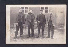 AK Guerre 14-18 Bzowo Gross Sibsau ( Prisonniers De Guerre Francais Voyagé Vers Trois Epis ) - Polen