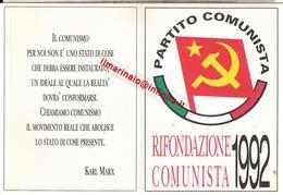 ** TESSERA.-RIFONDAZIONE COMUNISTA.** - Documentos Antiguos