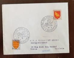 FRANCE Vigne Et Vin, Flamme Temporaire Foire Aux Vins 13 Avril 1957 à BRIGNOLES (vars) - Vins & Alcools