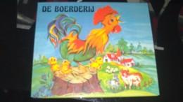 """POP-UP - LUCE ANDREE LAGARDE -   """" DE BOERDERIJ """" - Livres Pour Enfants"""