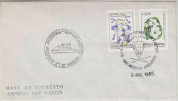 Argentina 1985 Antarctica/Base General San Martin Cover (37159) - Argentinië