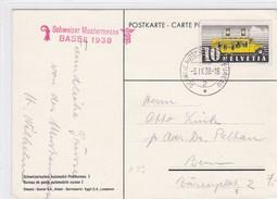Schweizer Mustermesse Basel 1938. Bureau De Poste Automobile - Erinnophilie