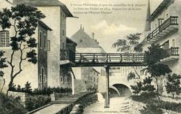 PLOMBIERES Les BAINS -  PLOMBIERES Ancien - Jacquot - Le Pont Des Vaches - Plombieres Les Bains