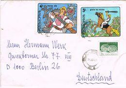 26547. Carta BUCAREST (Rumania) 1990 To Berlin - 1948-.... Republics