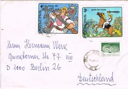 26547. Carta BUCAREST (Rumania) 1990 To Berlin - 1948-.... Republieken