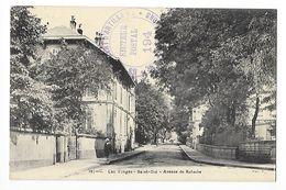 SAINT DIE  (cpa 88)  Avenue De Robache -  - L 1 - Saint Die