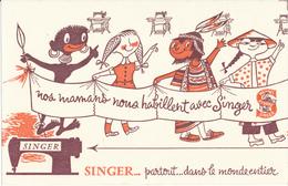 BUVARD - Machine à Coudre SINGER - Buvards, Protège-cahiers Illustrés