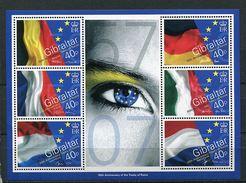 Lot 237 - B 19 - Gibraltar ** N° 1198 à 1203 En Feuillet - Cinquant. Du Traité De Rome -  Année 2007 - Europa-CEPT