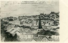 PLOMBIERES Les BAINS -PLOMBIERES Ancien - Vue Générale En 1850 - Jacquot - Plombieres Les Bains