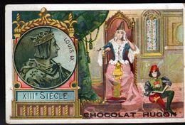 Chocolat Hugon, XIIIe Siecle, Louis IX - Chocolat